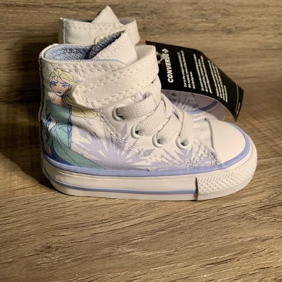 Toddler Girls Converse x Frozen 2 Chuck Taylor All NWT
